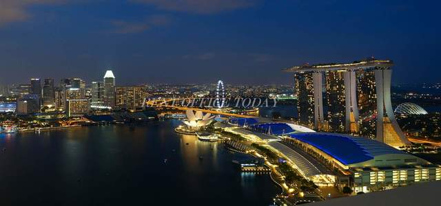 бизнес центр marina bay financial centre-5