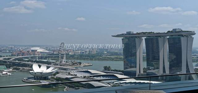 бизнес центр marina bay financial centre-7
