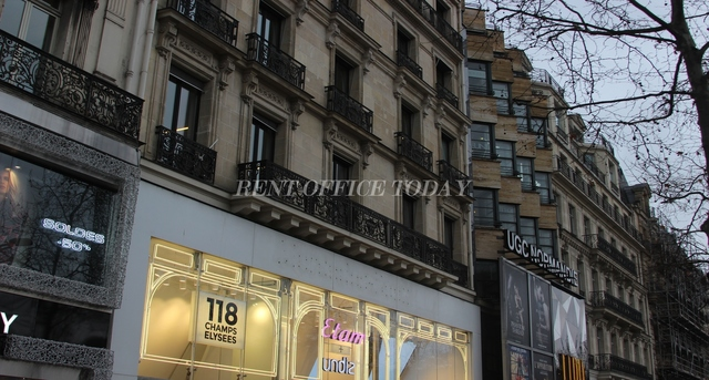 office rent 116 bis avenue des champs-elysees-2