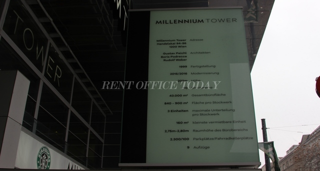office rent millenium tower-5