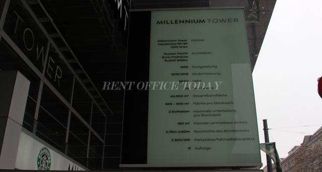 office rent millenium tower-5