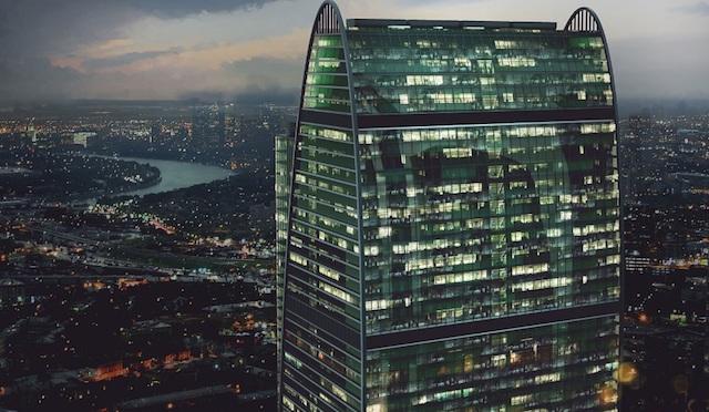 Самые высокие небоскребы в Москве
