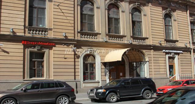 Бизнес центр Караванная 1, Снять офис в БЦ Караванная 1-6