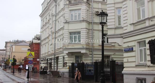 Снять офис в бизнес центре Петровский переулок 5с1-5