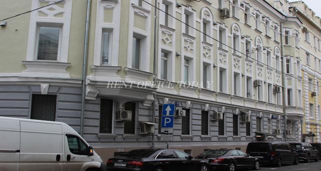 Снять офис в бизнес центре  Столовый переулок 6-1