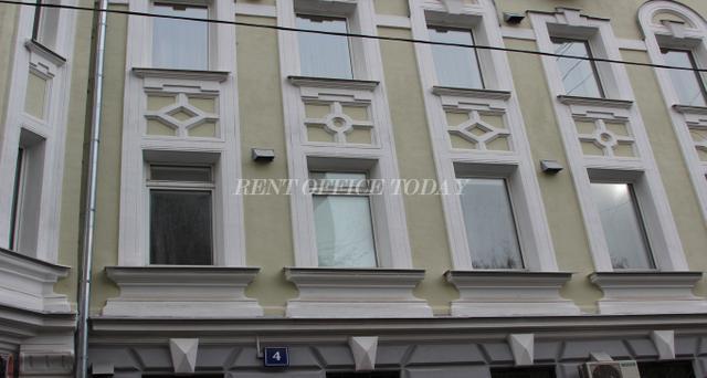 Снять офис в бизнес центре  Столовый переулок 6-2