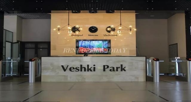 Снять офис в бизнес центре Вешки парк на Липкинское ш., 2-ой км, вл. 7, стр. 1-3