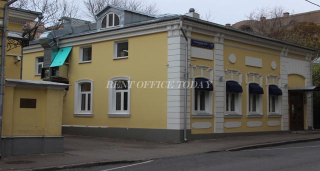 Снять офис в бизнес центре Трубниковский 15с1-3