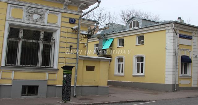 Снять офис в бизнес центре Трубниковский 15с1-4