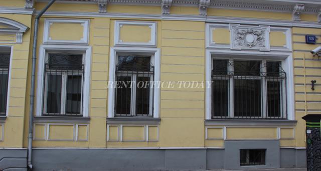 Снять офис в бизнес центре Трубниковский 15с1-6
