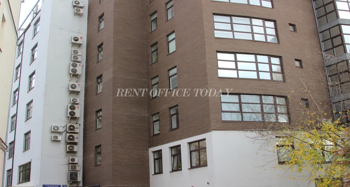 Снять офис в бизнес центре 1-й волконский пер. 13 стр. 2-4