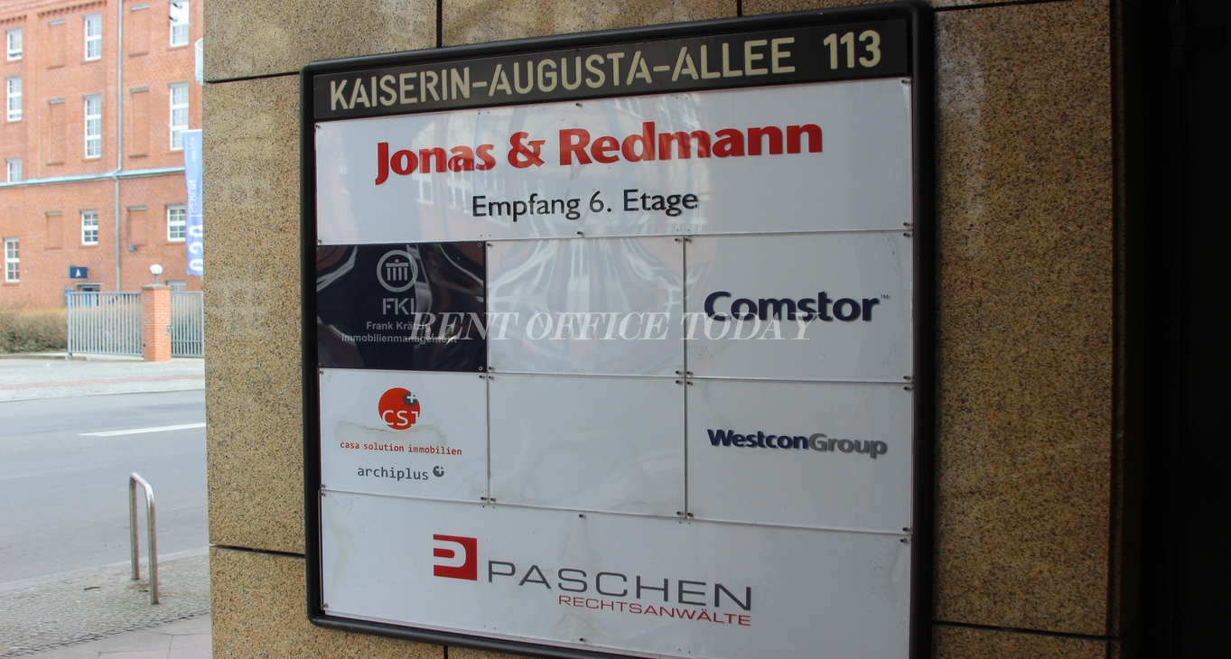 office rent kaiserin-augusta-allee 112-113-5