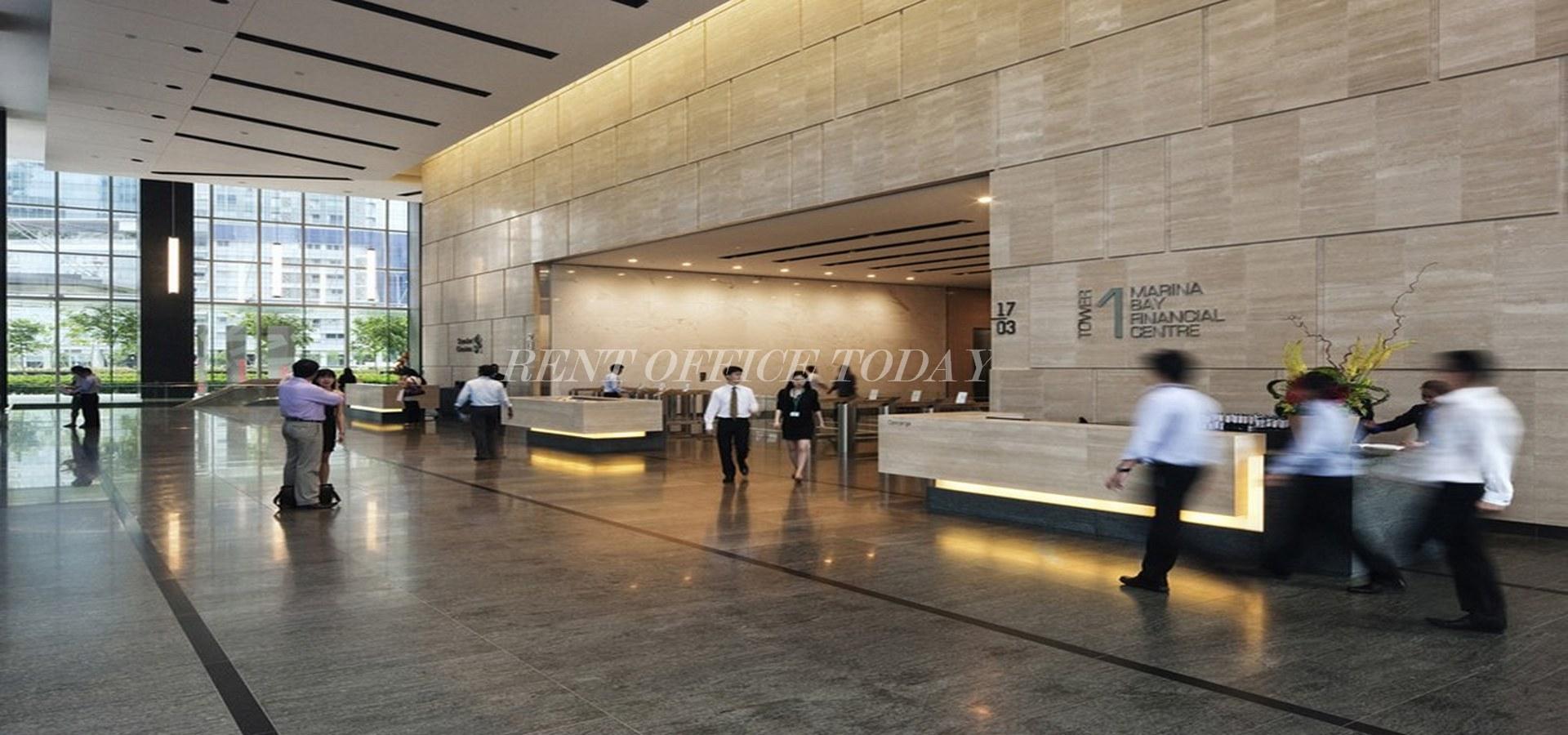 مكتب للايجار marina bay financial centre-11