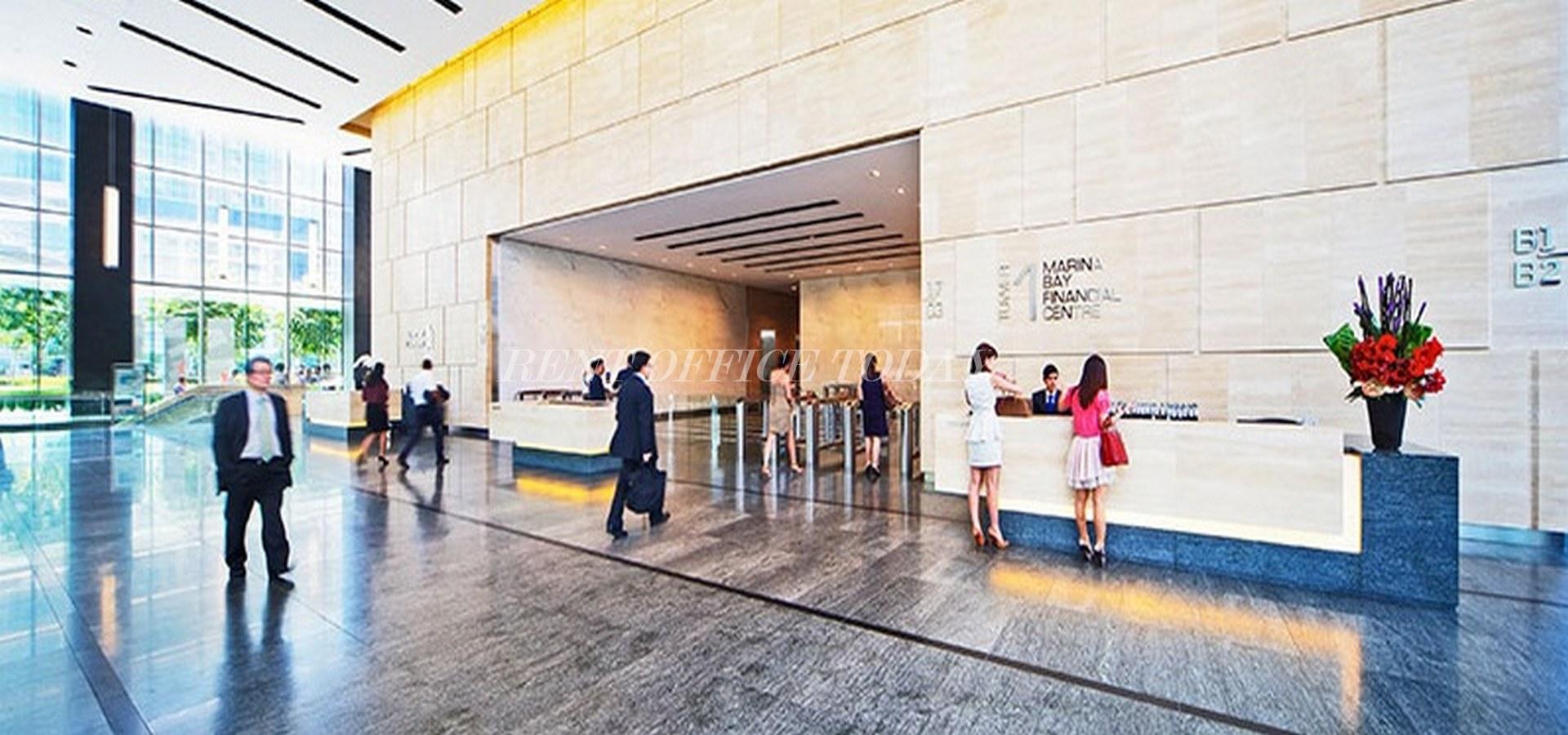 مكتب للايجار marina bay financial centre-3