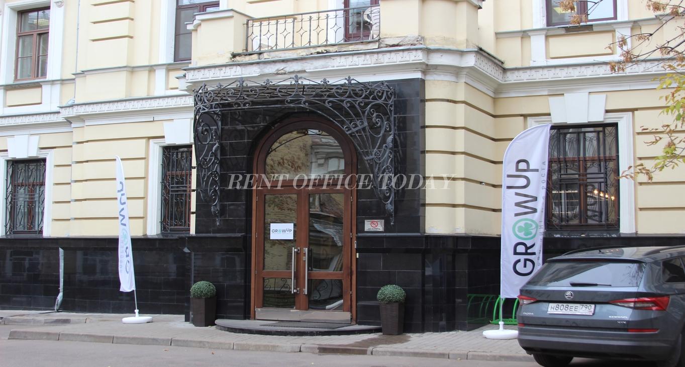 Снять офис в бизнес центре Николаевский на Большой Грузинской 12с2-4
