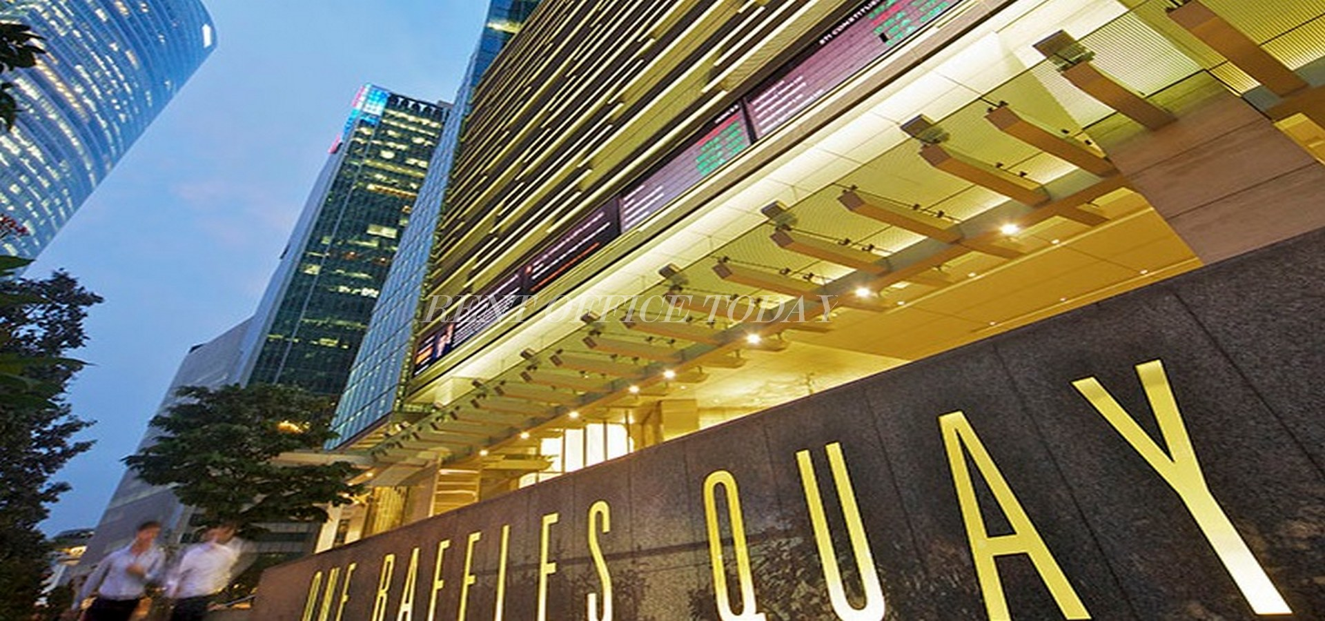 бизнес центр one raffles quay-1