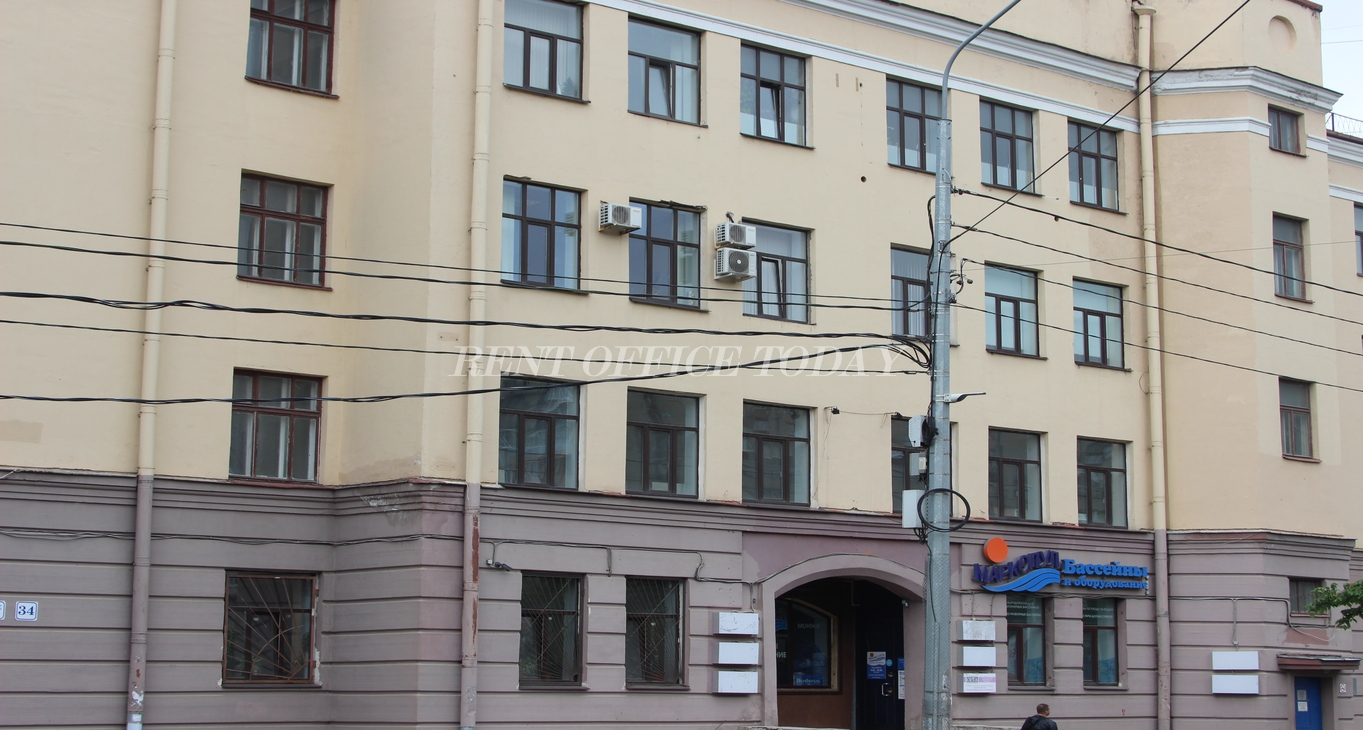 Бизнес центр Озерки, Снять офис в БЦ Озерки, Выборгское ш., д. 34-3