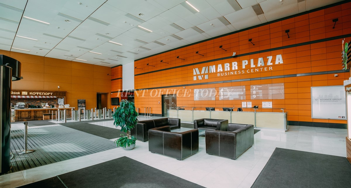 Бизнес центр Марр плаза, Аренда офиса в БЦ Марр плаза Макеева 13-3