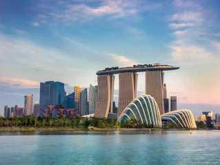 استئجار المكاتب في مارينا باي في سنغافورة