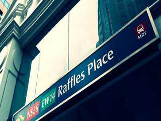 Office space for rent in Raffles Place in Singapore