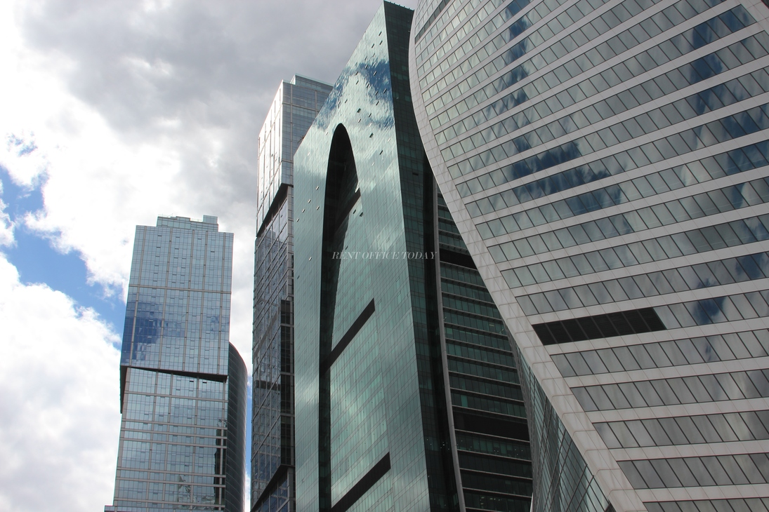 Moscow city,  Business centers in Moscow city